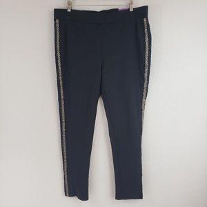 Lane Bryant Matador Skinny Pant/Leggings Size 18